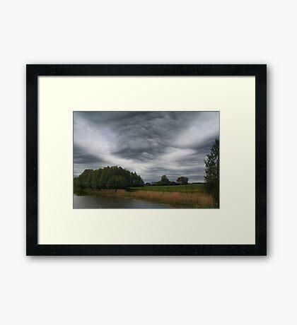 Extraordinary Clouds Framed Print