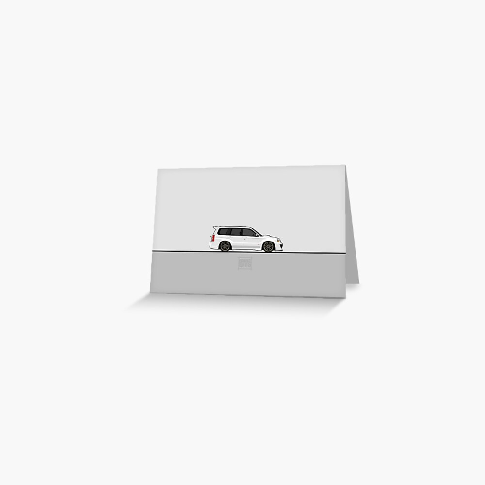 Visit idrewyourcar.com to find hundreds of car profiles! Greeting Card