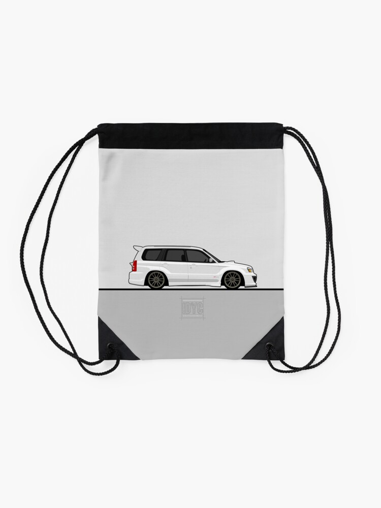 Alternate view of Visit idrewyourcar.com to find hundreds of car profiles! Drawstring Bag