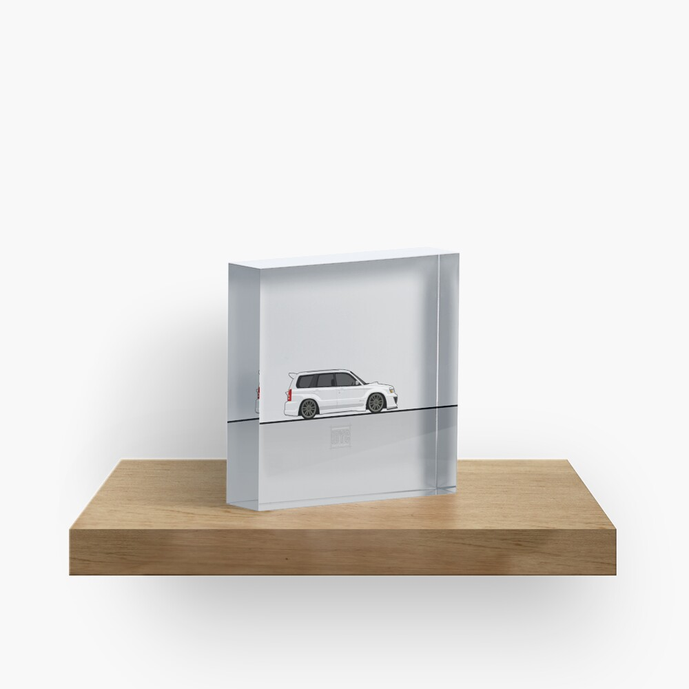 Visit idrewyourcar.com to find hundreds of car profiles! Acrylic Block