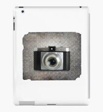 iLoca 35mm Camera Vintage Black and White iPad Case/Skin