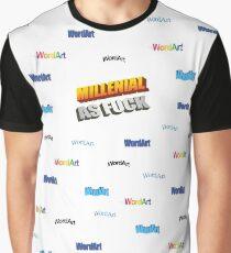 Millenial AF Grafik T-Shirt