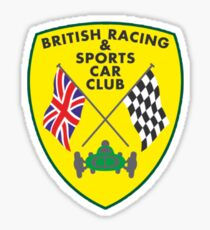 British Racing & Sports Car Club Sticker