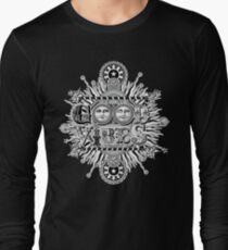 GOOD VIBES >> T-SHIRT , APPAREL, STICKER ,CLOCK, ETC Long Sleeve T-Shirt