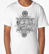 GOOD VIBES >> T-SHIRT , APPAREL, STICKER ,CLOCK, ETC Long T-Shirt