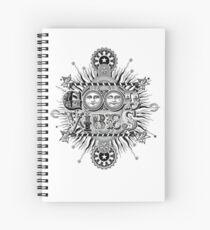 GOOD VIBES >> T-SHIRT , APPAREL, STICKER ,CLOCK, ETC Spiral Notebook
