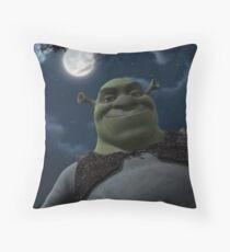 Shrekkypoo Throw Pillow