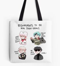 BTS: HOW TO BE MIN SUGA  Tote Bag