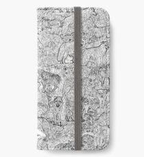 WolfMee - Pen & Ink iPhone Wallet/Case/Skin