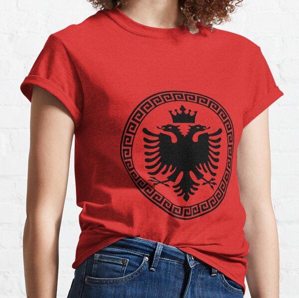 Albanien Hemd Kosovo Albanien Albanien Eagle albanische Flagge Geschenk Classic T-Shirt