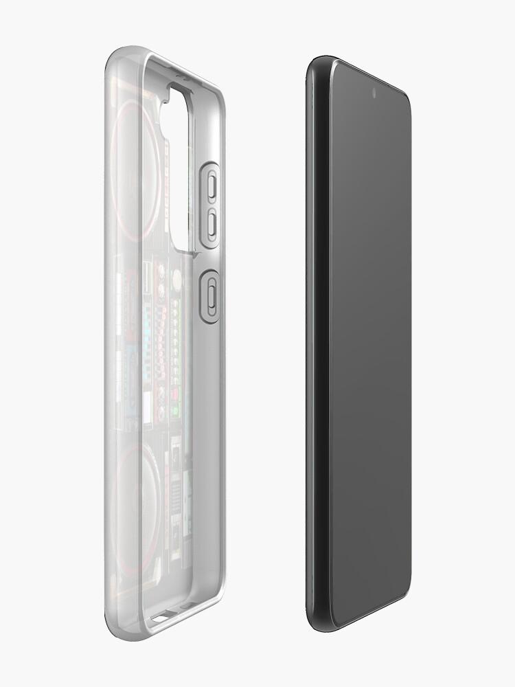 Alternate view of Gigantic Ghetto Blaster Case & Skin for Samsung Galaxy