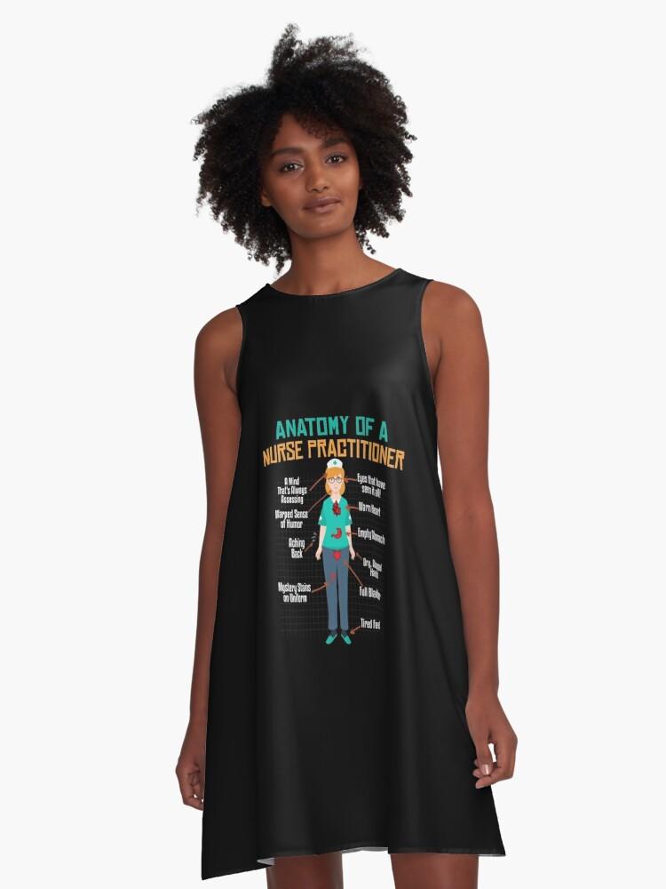 Vestidos acampanados «Anatomía de una enfermera \ | Enfermera ...