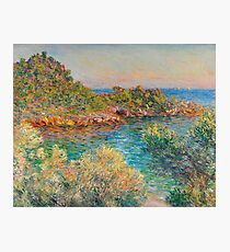 Claude Monet Landscape Near Montecarlo Photographic Print