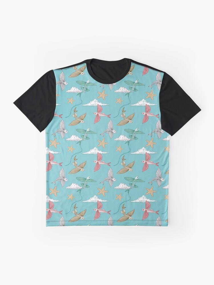 Alternative Ansicht von Meer der Freiheit Grafik T-Shirt