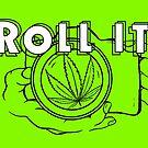 Roll It Merch Line Art by MischievousLane