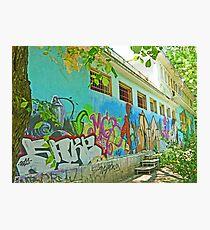 Street Art in Varna Photographic Print