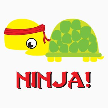 Turtle ninja! by evadelia