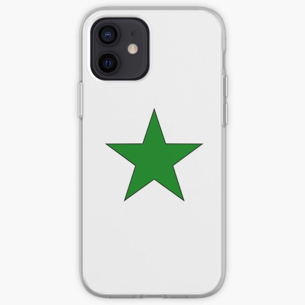 Esperanto Star iPhone Soft Case