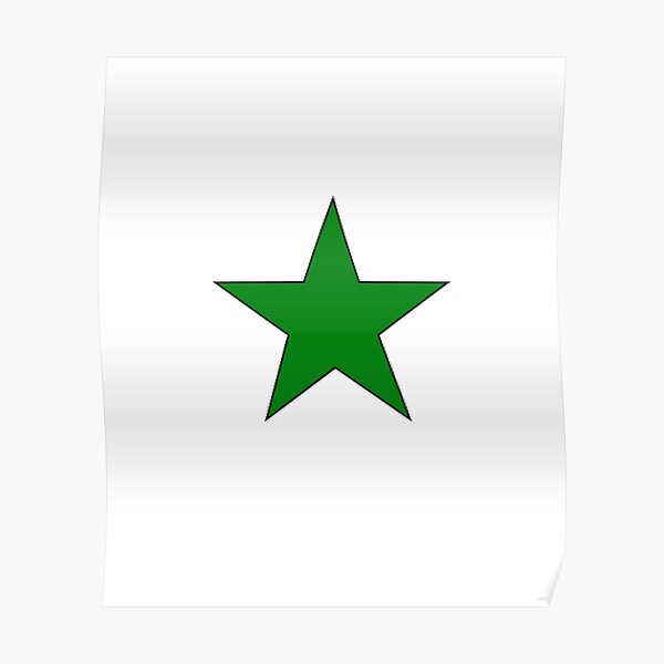Esperanto Star Poster