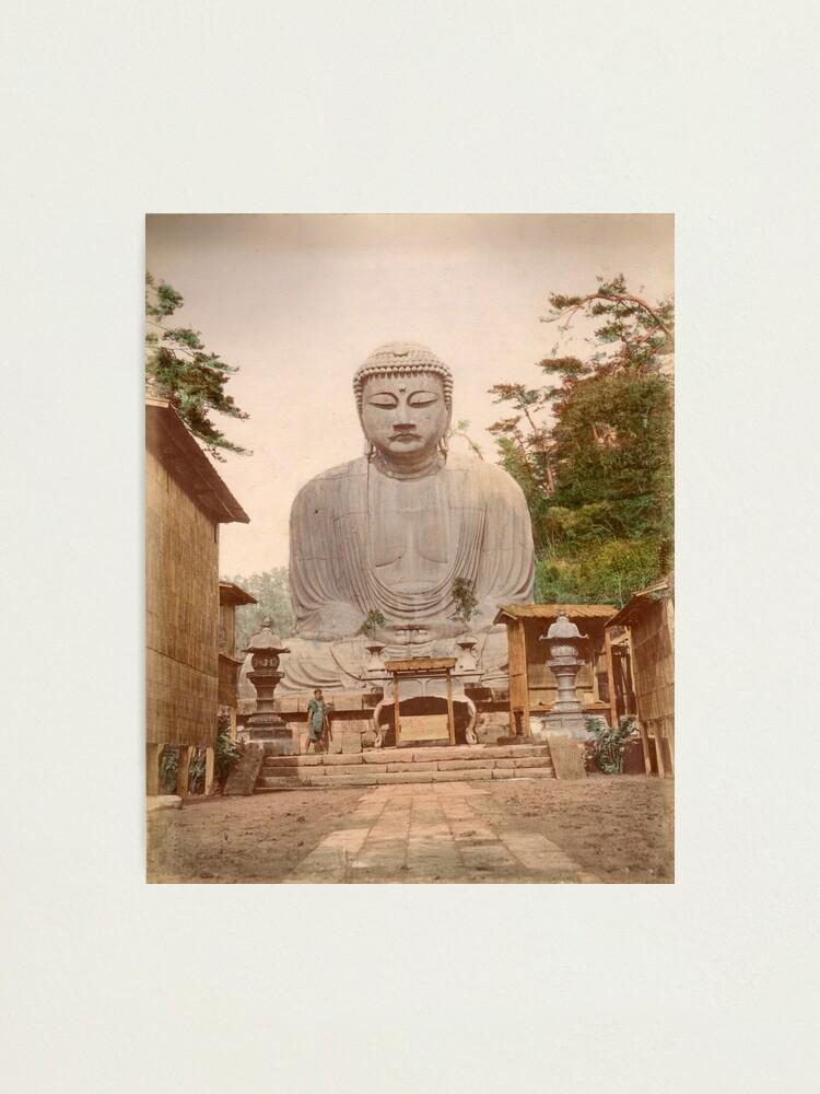 Alternate view of Giant Buddha, Japan Photographic Print