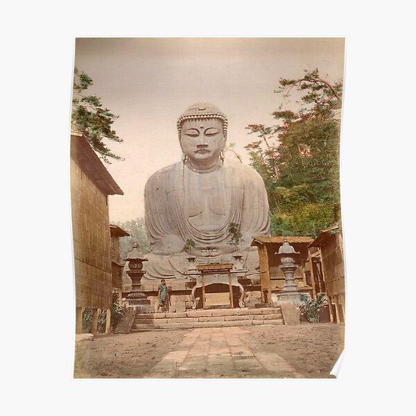 Giant Buddha, Japan Poster