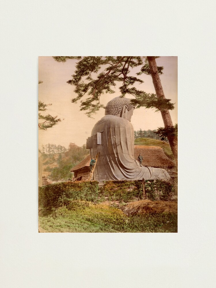 Alternate view of Giant Buddha, Japan Photographic Print