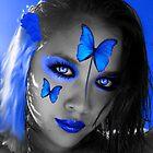 Blue stare by CheyenneLeslie Hurst