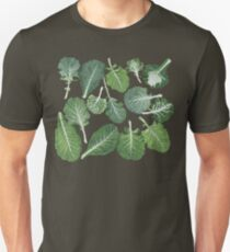 We're eating these wonderful collard greens... Slim Fit T-Shirt