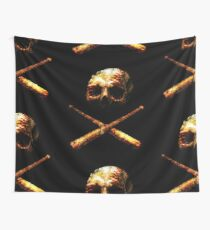 Baseball Or Death Wall Tapestry