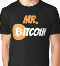 Mr Bitcoin Graphic T-Shirt