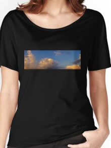 Sunset Clouds Women's Relaxed Fit T-Shirt