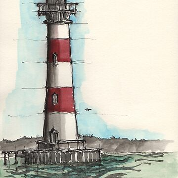 Morris Island Lighthouse by doodlebags