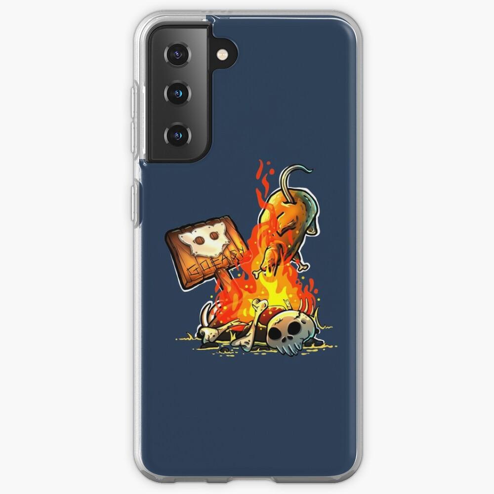 GoEaSyTwitch Bonfire Samsung Galaxy Phone Case