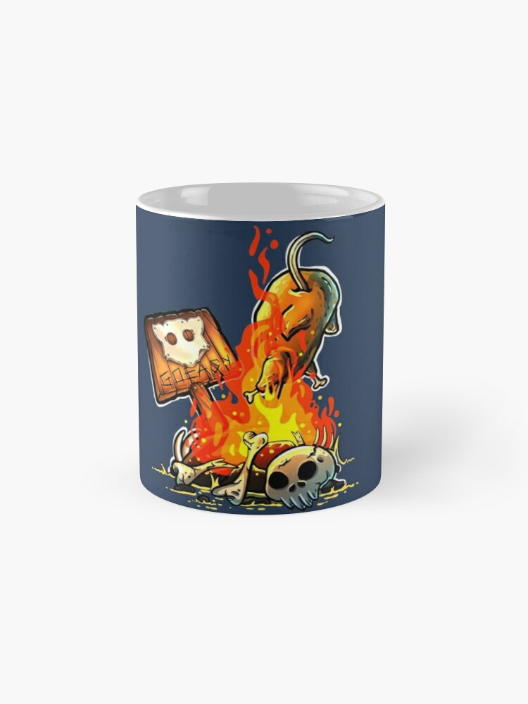 Alternate view of GoEaSyTwitch Bonfire Mug