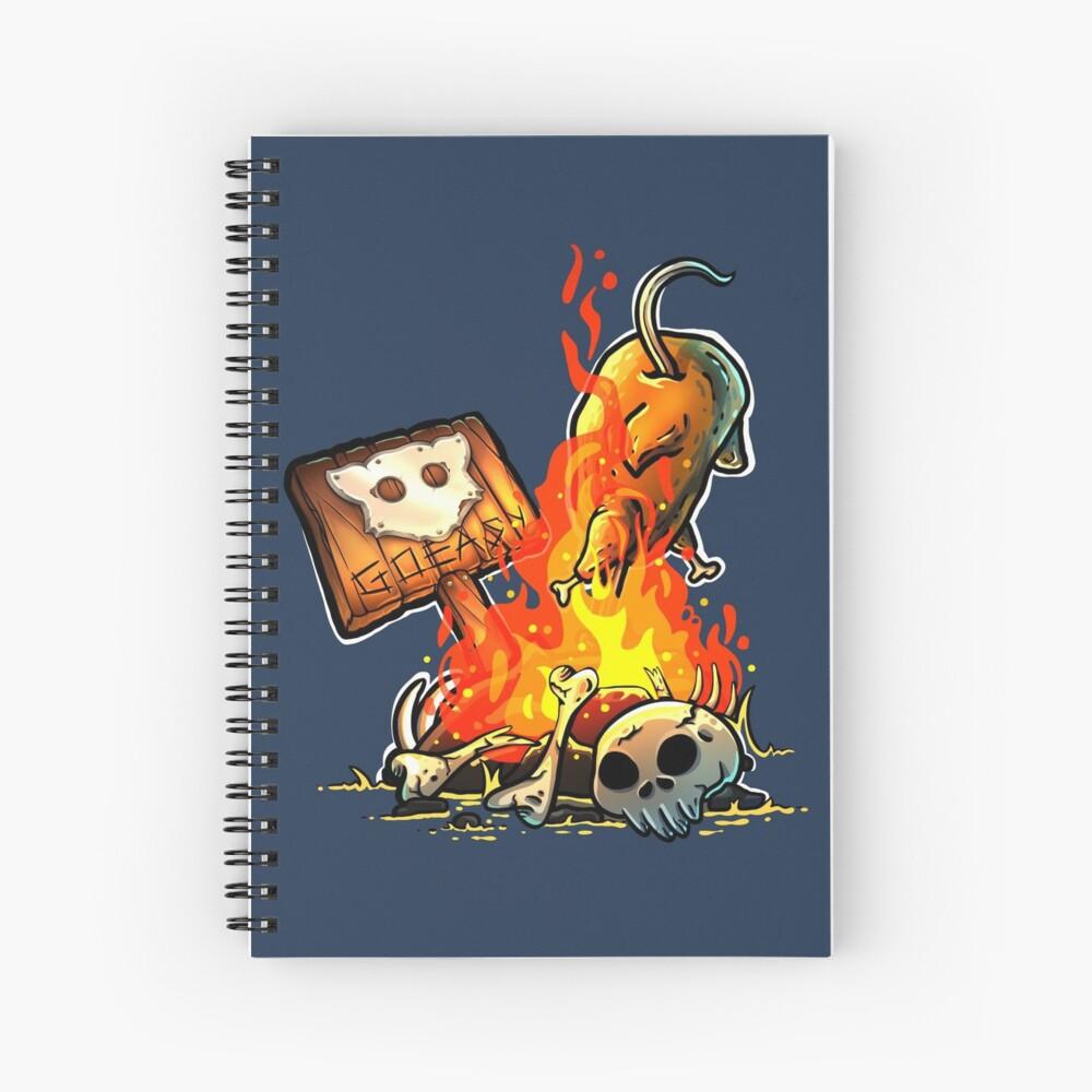 GoEaSyTwitch Bonfire Spiral Notebook