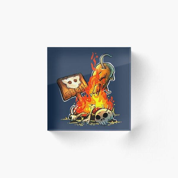 GoEaSyTwitch Bonfire Acrylic Block