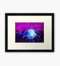 Commotion Framed Print