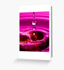 Spinning Top Greeting Card