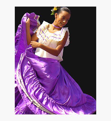 Folklore Dancer, Ciudad Colon, Costa Rica Photographic Print