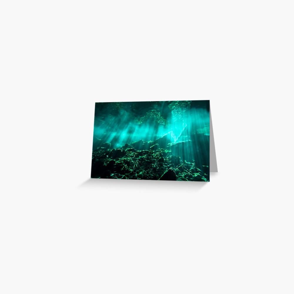 Gran Cenote Greeting Card