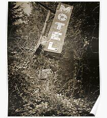 Old Motel Sign Poster