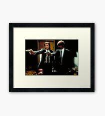 Vincent & Jules Framed Print
