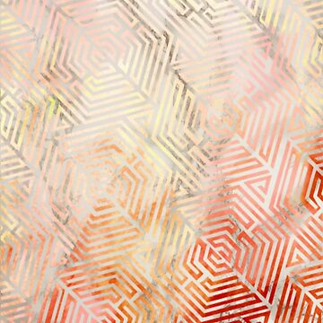 Rose Gold Pattern with Marble Background by rhoadsette