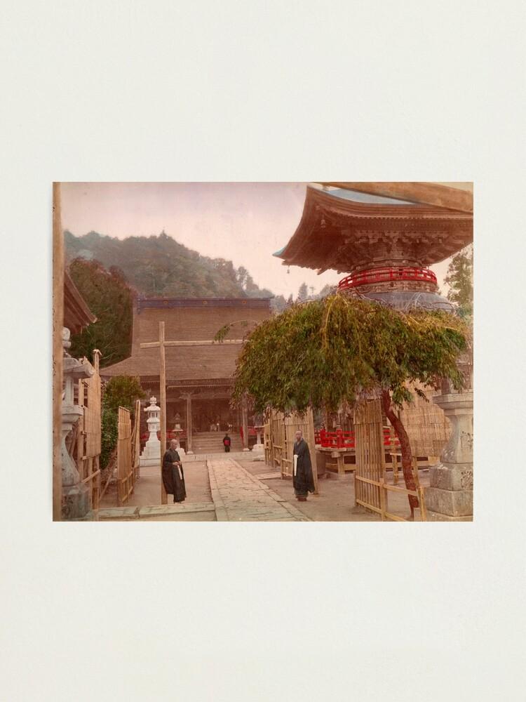 Alternate view of Mayasan Temple, Japan Photographic Print