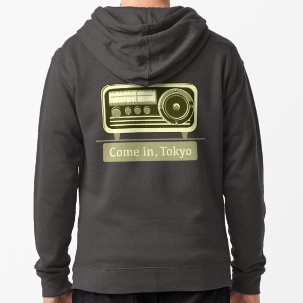 Come In, Tokyo! Zipped Hoodie