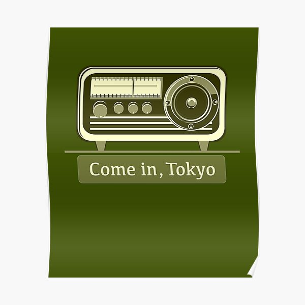 Come In, Tokyo! Poster