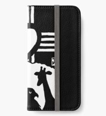 Rising Heart with Bear, Hawk, and Giraffe iPhone Wallet/Case/Skin