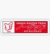 NOGOOD RACING [bye bye font 1985] Sticker