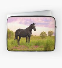 Dreaming of a Black Beauty  Laptop Sleeve