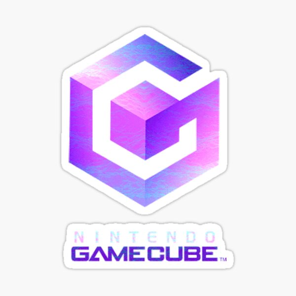 Gamecube STICKER Pegatina